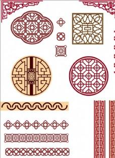 中式古典花紋