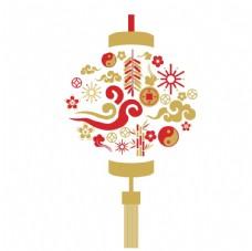 新年元素燈籠