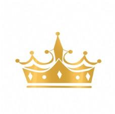歐式金色菱形皇冠