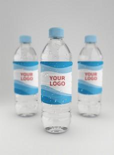 原创模型水样机矿泉水瓶子
