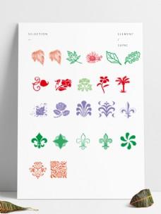 多种植物PS笔刷下载