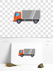 车类卡车扁平图标