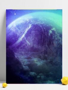 科幻地球背景素材
