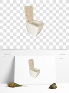 C4D抽水马桶3D模型