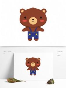 小棕熊卡通形象设计