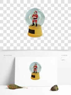 C4D圣诞老人玩具3D模型