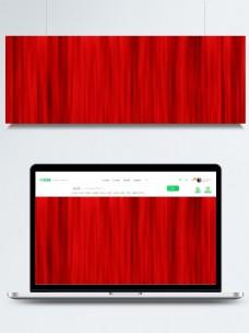 红色幕布垂感纹理banner背景