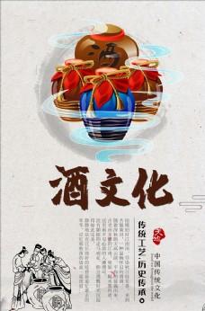 中国酒文化海报