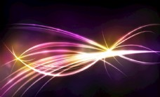 炫彩光线光效背景设计高清