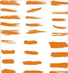 笔刷 笔触  毛笔字体 设计素