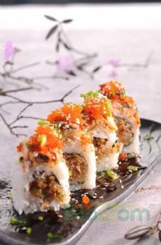 魚子醬壽司 刺身  日式菜品