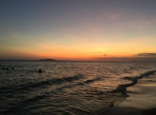 大海 夕阳 海天一色