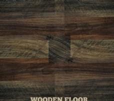 漂亮的深色木地板