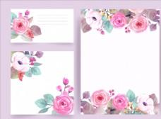 花朵边框设计