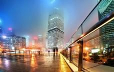 城市夜晚风景