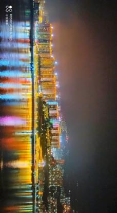 奉节夜景图