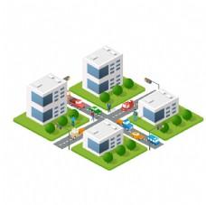 扁平化建筑