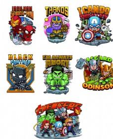 卡通复仇者联盟