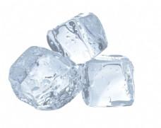 透明冰块素材PSD文件
