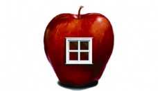 红苹果logo