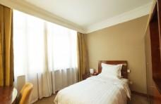 星级酒店单人床