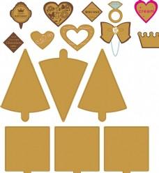 糕点装饰用品节日祝福小装饰
