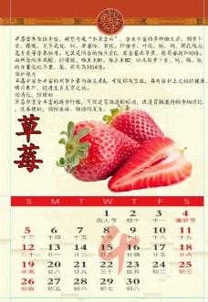 2020年水果4月日历