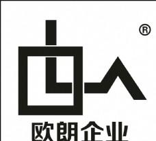 欧朗企业 LOGO 标志