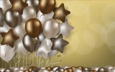 节日气球背景