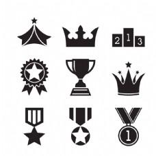 奖杯勋章图标