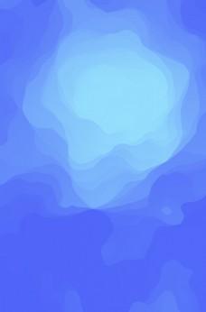 蓝色  高端  时尚 简约 背
