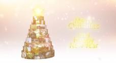 圣诞节AE片头模板