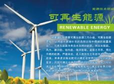 可再生能源文化展板