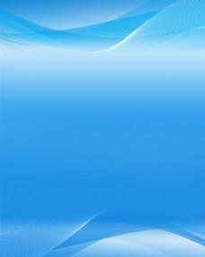 简约浅蓝背景设计