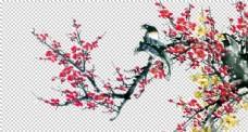 花鸟素材png