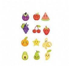 矢量水果拟人化