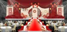 婚礼舞台效果图