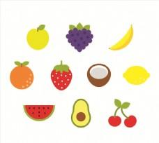 水果素材矢量图