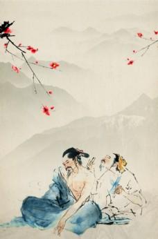中式海报背景